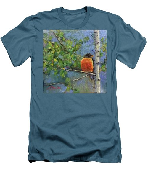 View From My Window Men's T-Shirt (Athletic Fit)