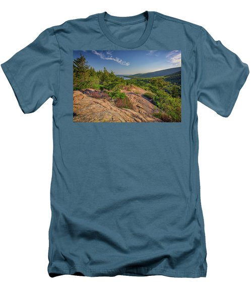 View From South Bubble Men's T-Shirt (Slim Fit) by Rick Berk