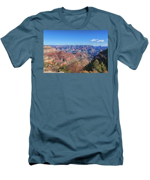Men's T-Shirt (Slim Fit) featuring the photograph View From The South Rim by John M Bailey