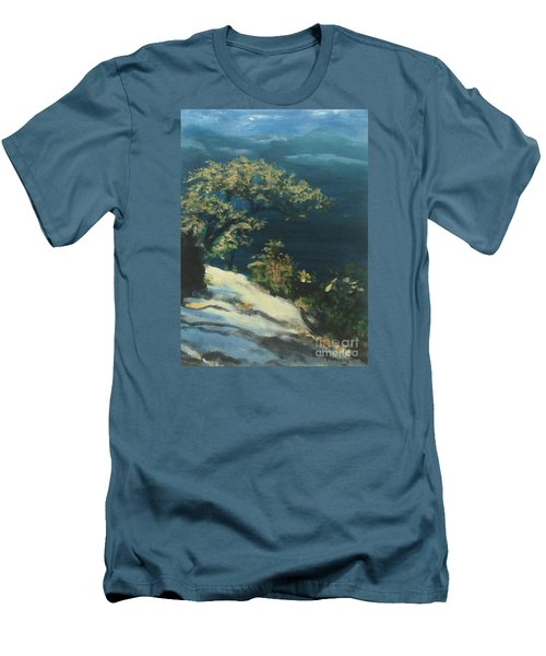 View From The Top Men's T-Shirt (Slim Fit) by Mary Lynne Powers