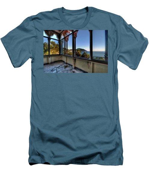 Villa Of Windows On The Sea - Villa Delle Finestre Sul Mare II Men's T-Shirt (Athletic Fit)