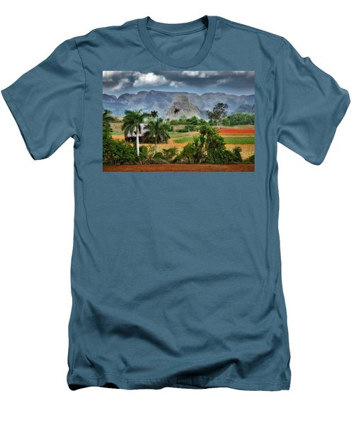 Vinales. Pinar Del Rio. Cuba Men's T-Shirt (Athletic Fit)