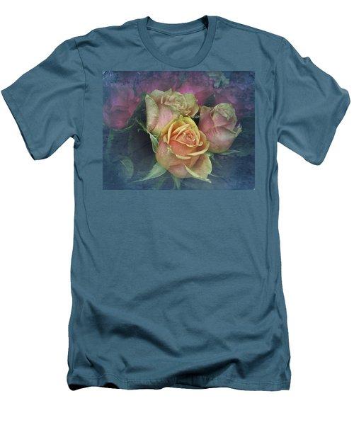 Vintage Sunday Roses Men's T-Shirt (Athletic Fit)