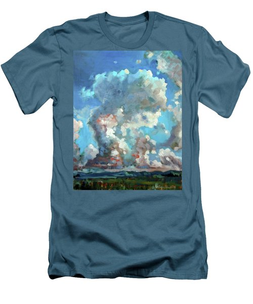 Virginia Sky Men's T-Shirt (Athletic Fit)