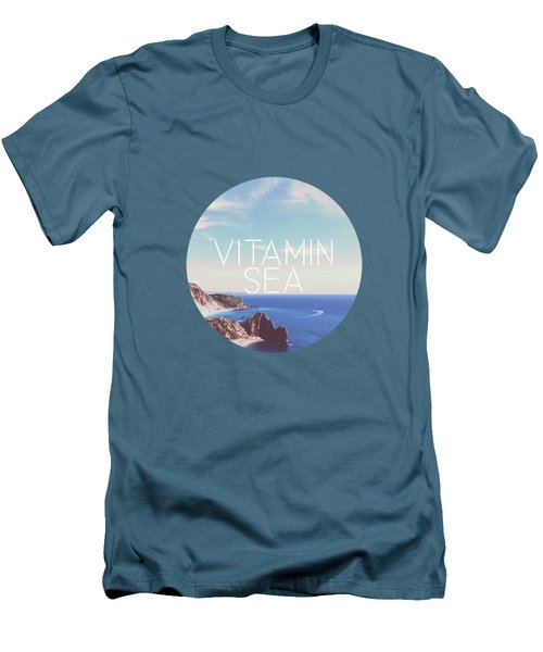 Vitamin Sea Men's T-Shirt (Slim Fit) by Alexandre Ibanez