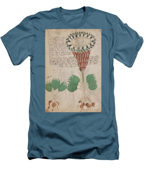 Voynich Flora 15 Men's T-Shirt (Athletic Fit)