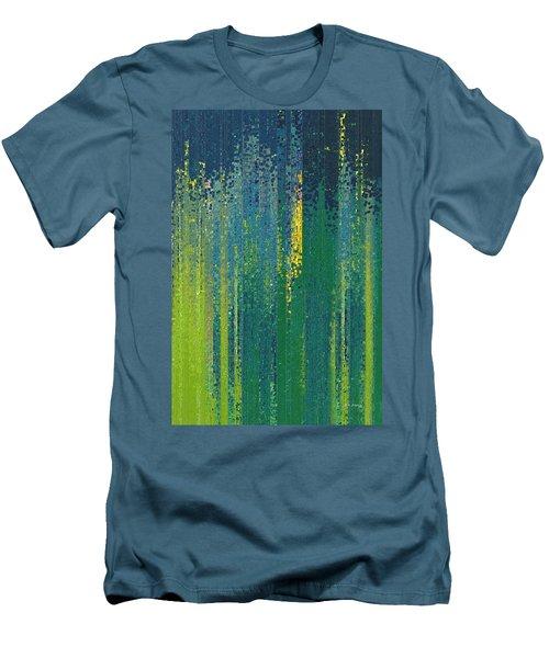 Wait For God. Lamentations 3 25 Men's T-Shirt (Athletic Fit)