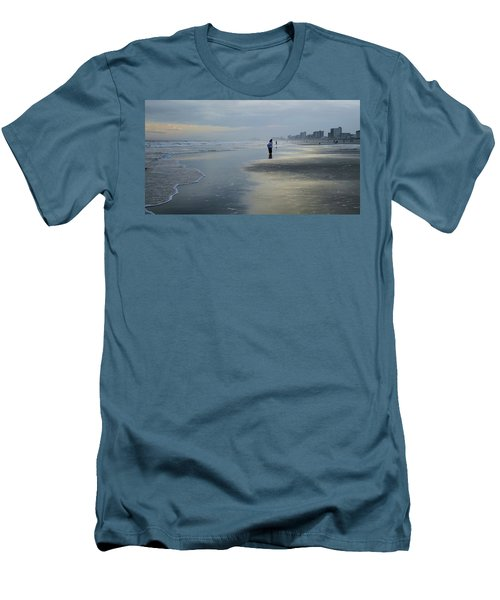 Waiting Men's T-Shirt (Slim Fit) by Cathy Harper
