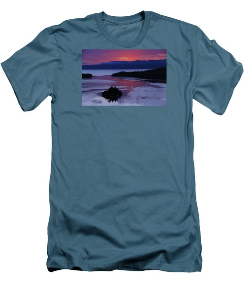 Wake Up In Lake Tahoe  Men's T-Shirt (Athletic Fit)