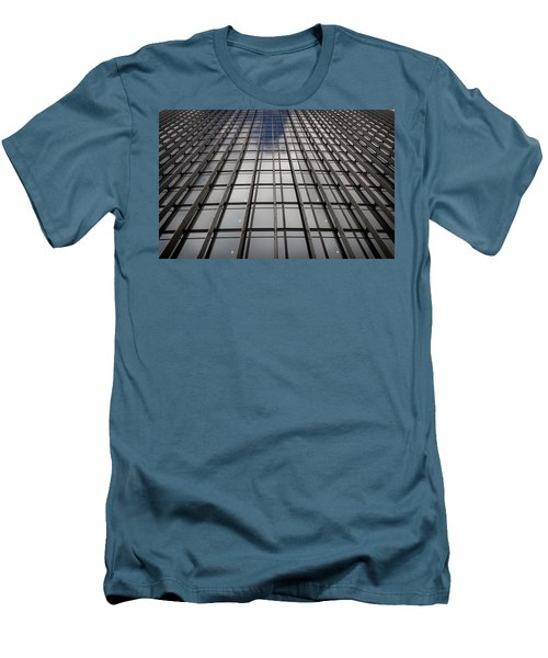 Men's T-Shirt (Slim Fit) featuring the photograph Walkie Talkie Skyscraper London by Shirley Mitchell