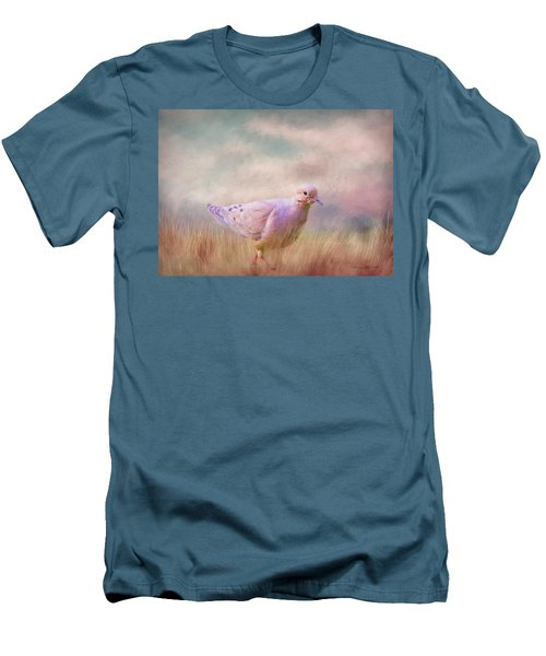 Men's T-Shirt (Athletic Fit) featuring the photograph Walking Across America by Bellesouth Studio