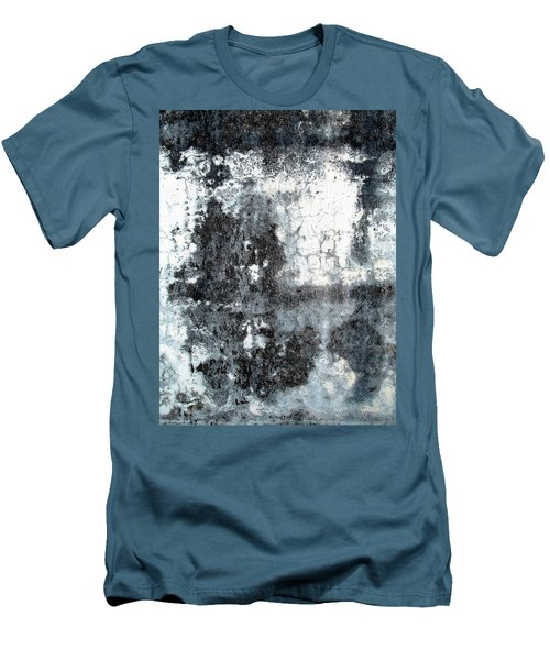 Wall Abstract 165 Men's T-Shirt (Slim Fit) by Maria Huntley