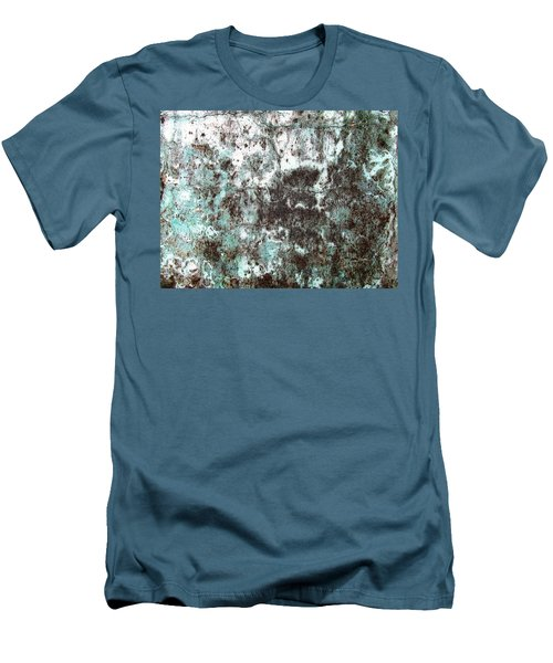Wall Abstract 173 Men's T-Shirt (Slim Fit) by Maria Huntley