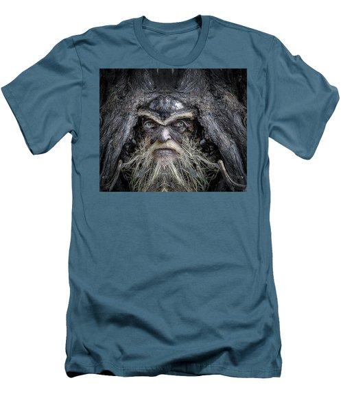 Wally Woodfury Men's T-Shirt (Slim Fit) by Rick Mosher