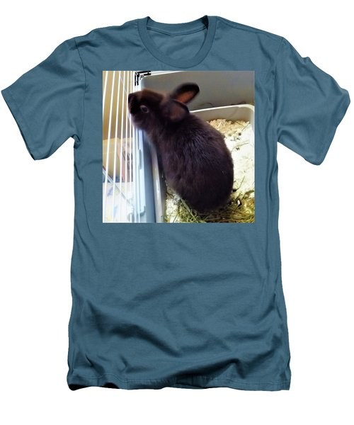 Men's T-Shirt (Athletic Fit) featuring the photograph Warm And Soft by Denise Fulmer