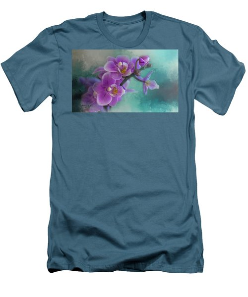 Men's T-Shirt (Slim Fit) featuring the photograph Warms The Heart by Marvin Spates