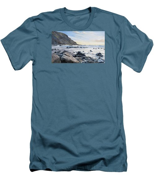 Warren Point Sunset Duckpool Men's T-Shirt (Athletic Fit)