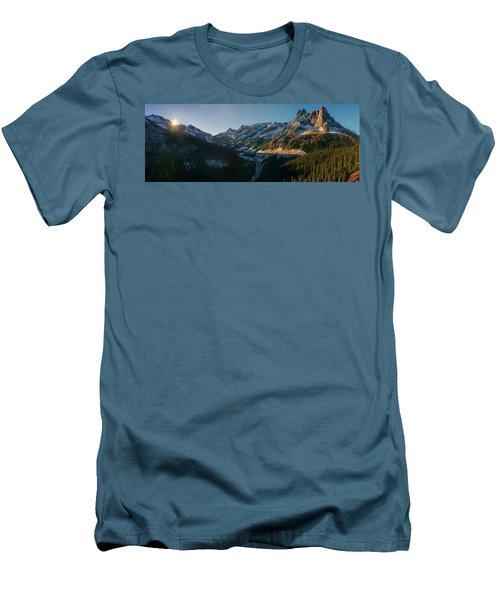 Washington Pass Rising Men's T-Shirt (Athletic Fit)