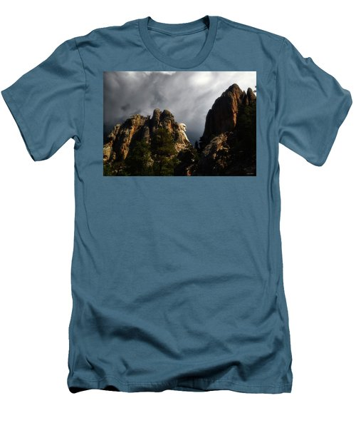Men's T-Shirt (Slim Fit) featuring the photograph Washington Profile 001 by George Bostian