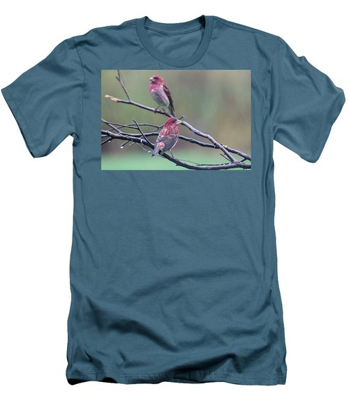 Men's T-Shirt (Slim Fit) featuring the photograph Watching Over You by Susan Capuano