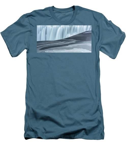 Men's T-Shirt (Athletic Fit) featuring the photograph Water And Ash by Dustin LeFevre