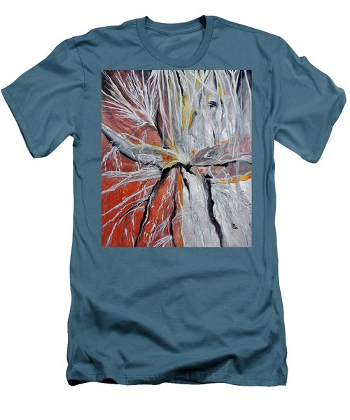 Water Leaks Men's T-Shirt (Slim Fit) by Raymond Perez