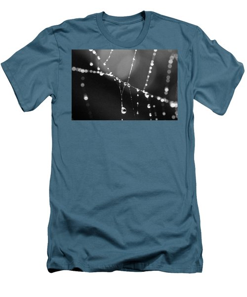Men's T-Shirt (Slim Fit) featuring the photograph Water Web by Darcy Michaelchuk