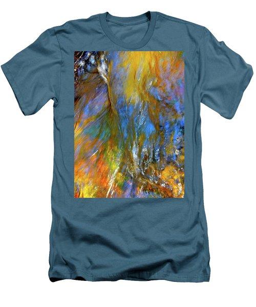 Water Wonder 164 Men's T-Shirt (Slim Fit) by George Ramos