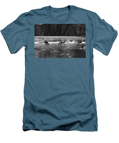 Waterfall 002  Men's T-Shirt (Slim Fit)