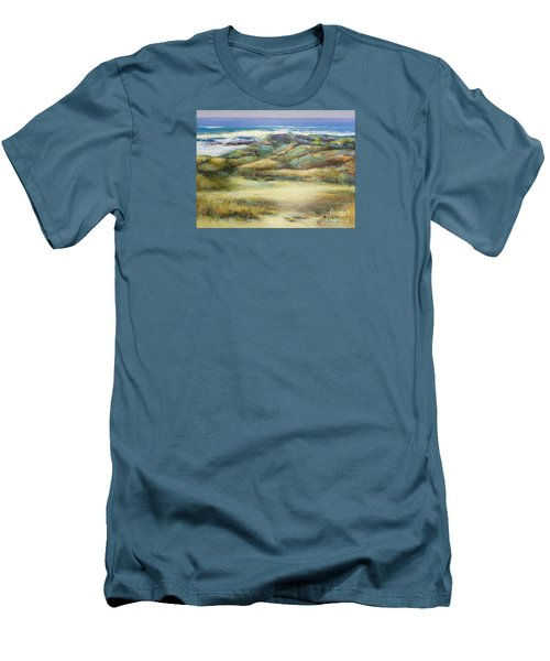 Water's Edge Men's T-Shirt (Slim Fit) by Glory Wood