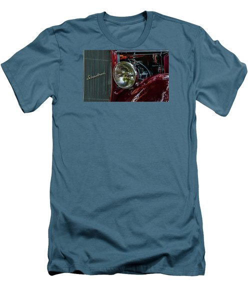 Men's T-Shirt (Slim Fit) featuring the photograph Waupaca Streetrod by Trey Foerster