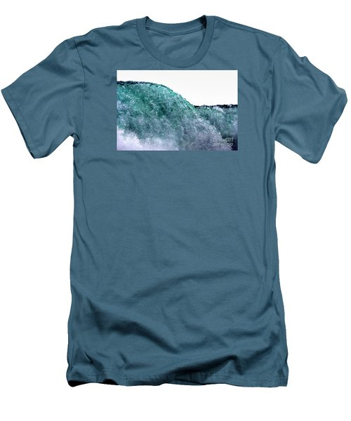 Men's T-Shirt (Slim Fit) featuring the photograph Wave Rider by Dana DiPasquale