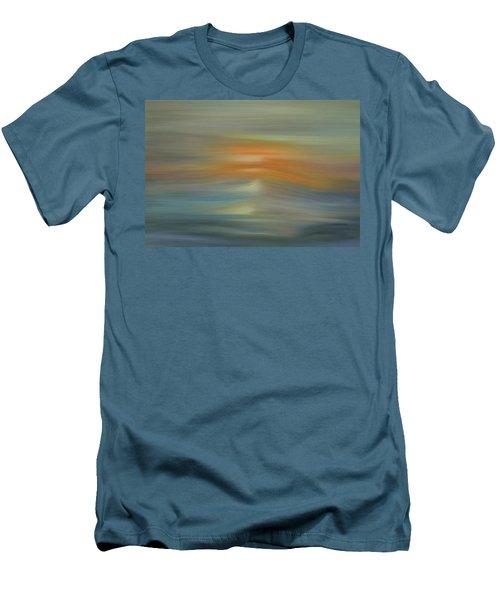 Wave Swept Sunset Men's T-Shirt (Slim Fit) by Dan Sproul