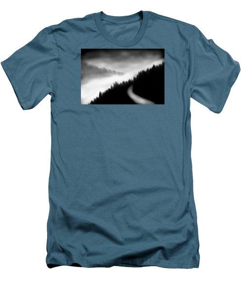 Way To The Unknown Men's T-Shirt (Slim Fit) by Salman Ravish