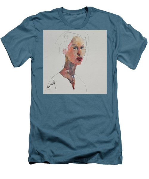 Wc Mini Portrait 2 Men's T-Shirt (Slim Fit) by Becky Kim