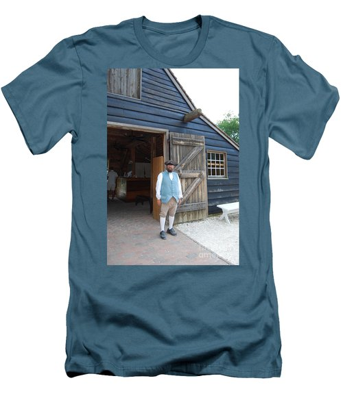 Men's T-Shirt (Slim Fit) featuring the photograph Welcome by Eric Liller