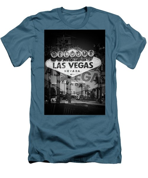 Welcome To Vegas Xiv Men's T-Shirt (Slim Fit)