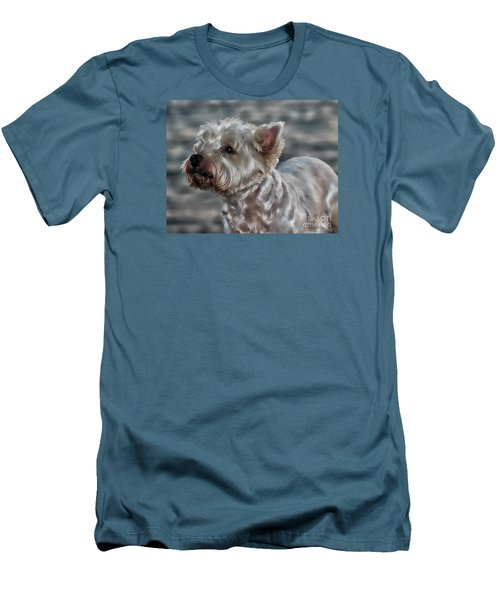 Westie Love Men's T-Shirt (Athletic Fit)