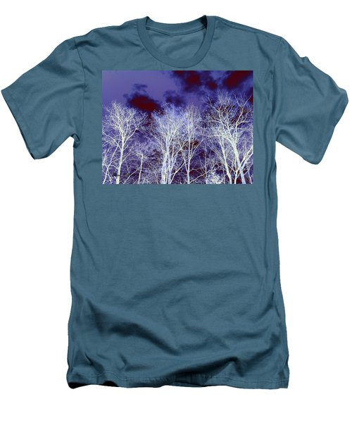 Men's T-Shirt (Slim Fit) featuring the photograph What Lies Above by Shana Rowe Jackson