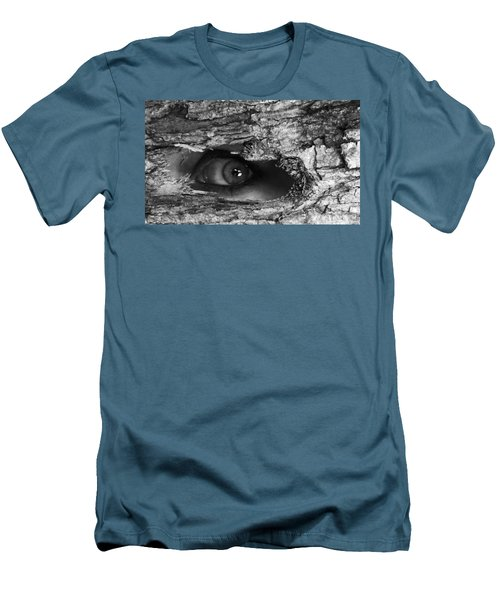 What The Forest Sees Men's T-Shirt (Athletic Fit)