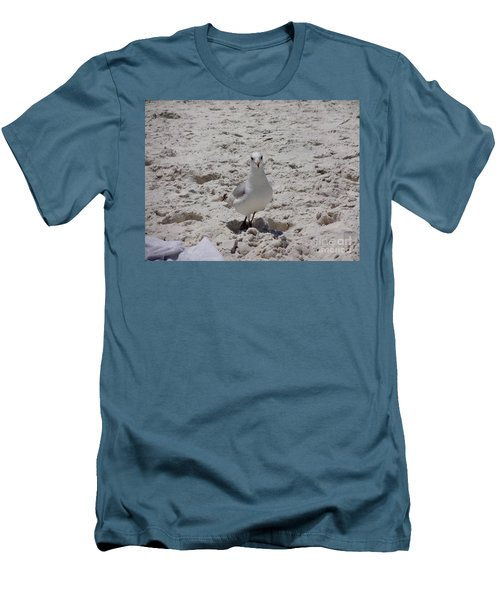 What's Up? Men's T-Shirt (Slim Fit) by Megan Cohen