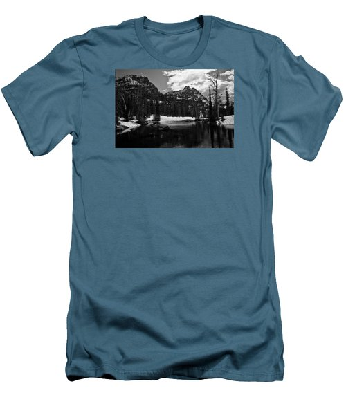 Whelp Lake, Mission Mountains Men's T-Shirt (Athletic Fit)