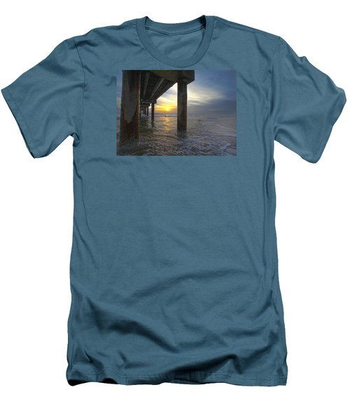 Where The Sand Meets The Surf Men's T-Shirt (Slim Fit) by Robert Och