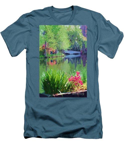 White Bridge Men's T-Shirt (Athletic Fit)