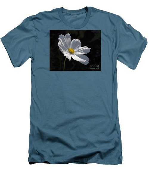 White Cosmos Men's T-Shirt (Athletic Fit)