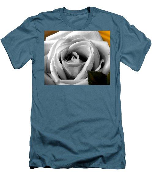 White Rose 2 Men's T-Shirt (Slim Fit)
