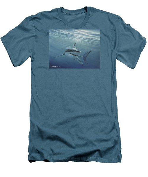 White Shark Men's T-Shirt (Athletic Fit)