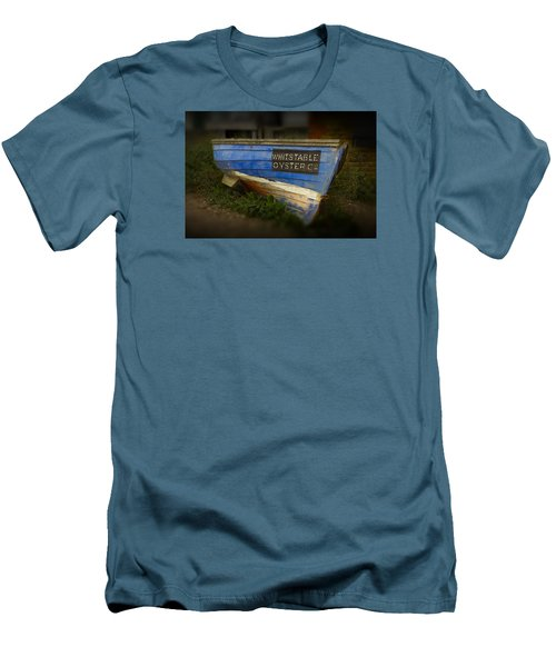 Whitstable Oysters Men's T-Shirt (Slim Fit) by David French