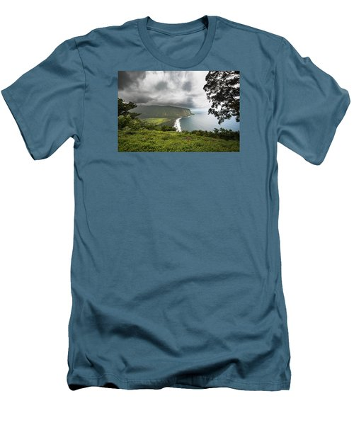 Wiapio Valley Men's T-Shirt (Slim Fit) by Allen Biedrzycki