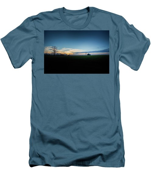 Men's T-Shirt (Slim Fit) featuring the photograph Wide Open Spaces by Shane Holsclaw